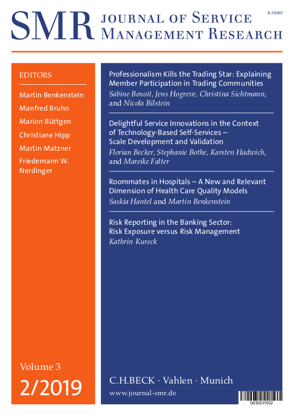 Home | SMR - Journal of Service Management Research